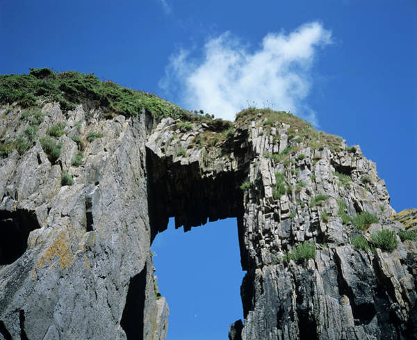 Welsh Church Photograph - Sea Arch by Sinclair Stammers/science Photo Library