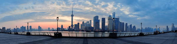 Wall Art - Photograph - Shanghai Morning by Songquan Deng