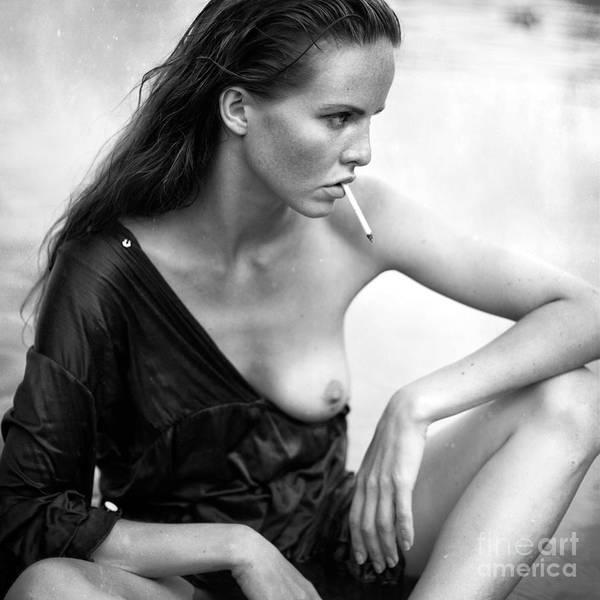 Photograph - She by Ksenia Alekseeva