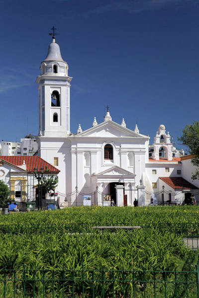 Franciscan Photograph - South America, Argentina, Buenos Aires by Kymri Wilt