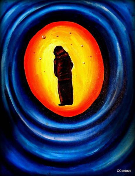 Spiritual Journey-1 Art Print by Carmen Cordova