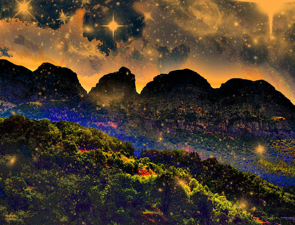 Photograph - Starry Night by Augusta Stylianou