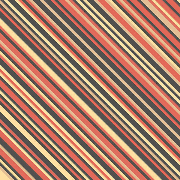 Diagonal Digital Art - Striped Pattern by Mike Taylor