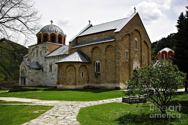 Ortodox Wall Art - Photograph - Studenica Monastery by Zoran Berdjan