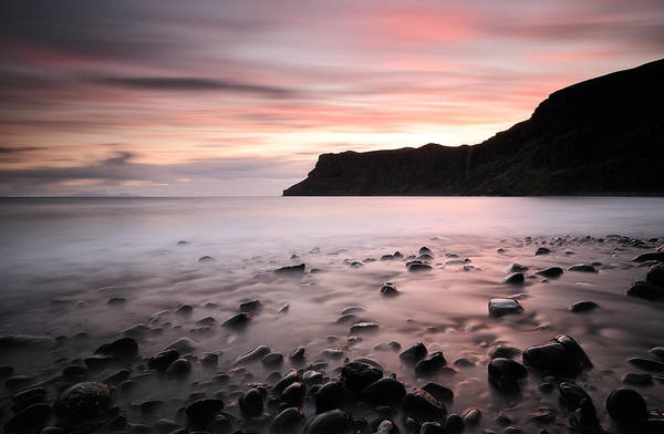 Photograph - Talisker Bay Sunset by Grant Glendinning