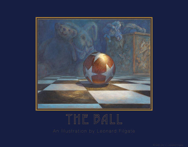 Wall Art - Painting - The Ball by Leonard Filgate