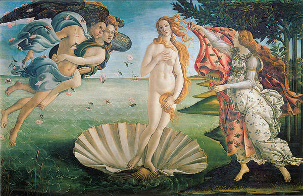 Botticelli Wall Art - Painting - The Birth Of Venus by Sandro Botticelli