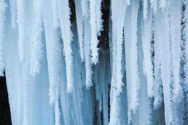 Tuff Wall Art - Photograph - The Frozen Schleierfaelle (veil Falls by Martin Zwick