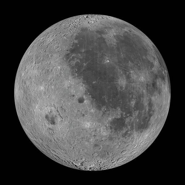 Wall Art - Photograph - The Moon by Nasa/science Photo Library