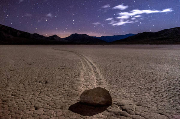 Death Valley Photograph - The Racetrack by Cat Connor