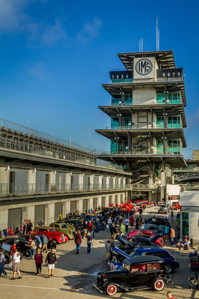 Photograph - The Speedway Nationals by Ron Pate