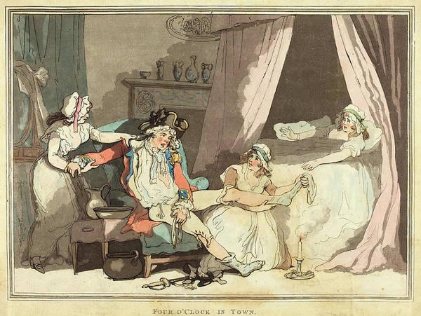 Wall Art - Drawing - Thomas Rowlandson British, 1756 - 1827 by Quint Lox