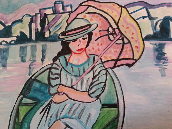 Painting - Touring Europe by Nikki Dalton