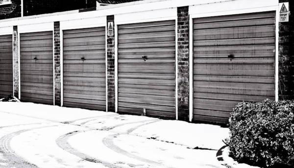 Perilous Wall Art - Photograph - Tyre Tracks by Tom Gowanlock
