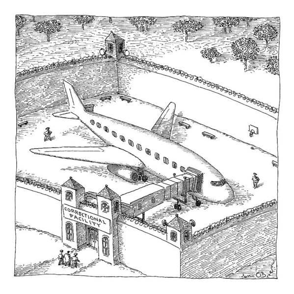 April 20th Drawing - New Yorker April 20th, 2009 by John O'Brien