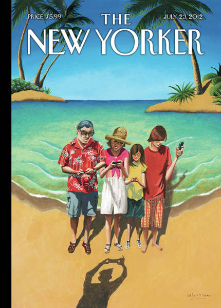 Painting - New Yorker July 23rd, 2012 by Mark Ulriksen