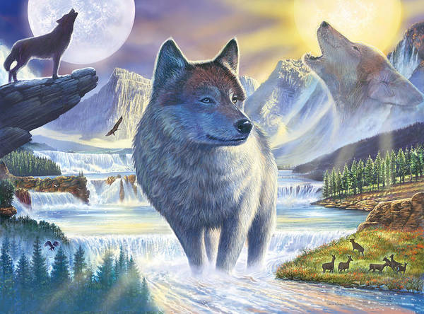 Howling Photograph - Untitled by MGL Meiklejohn Graphics Licensing
