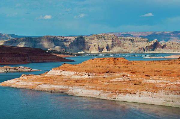 Wall Art - Photograph - Usa, Arizona, Page, Lake Powell Vistas by Bernard Friel