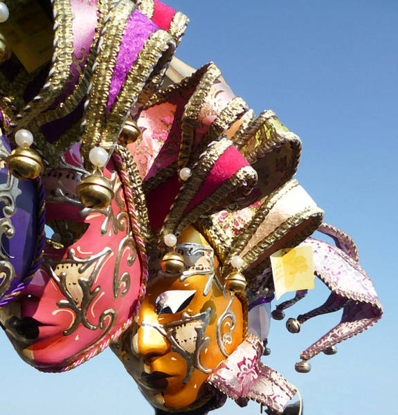 Mardi Gras Photograph - Venetian Masks  by Irina Sztukowski