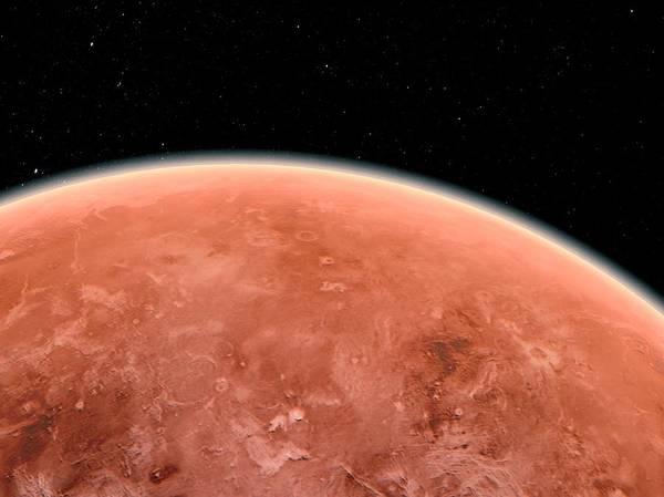 Red Planet Digital Art - Venus, Artwork by Sciepro