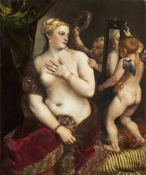 Painting - Venus With A Mirror by Titian