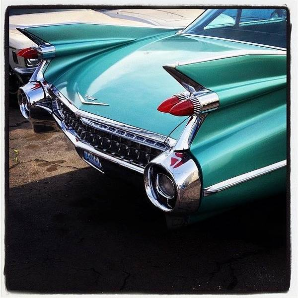 Cadillac Photograph - #vintagecars #oldcars #classiccars by Mike Valentine