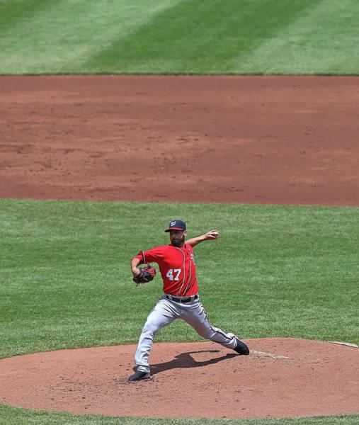 Ball Photograph - Washington Nationals V Chicago Cubs by Jonathan Daniel