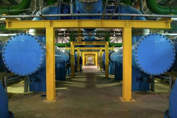 Israeli Photograph - Water Treatment Plant by Photostock-israel/science Photo Library