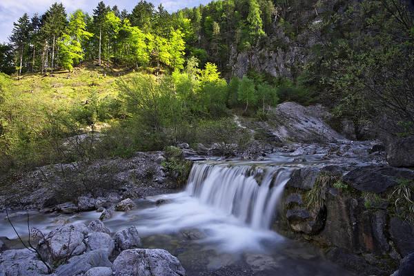 Photograph - Waterfall by Ivan Slosar