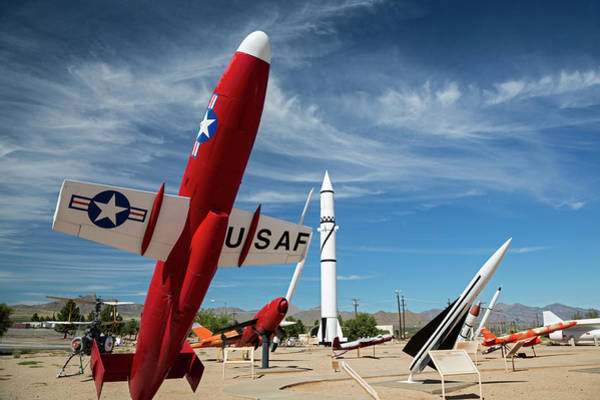 Chihuahuan Desert Photograph - White Sands Missile Range Museum by Jim West