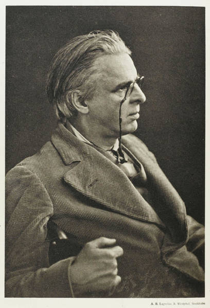 William And Mary Photograph - William Butler Yeats  Irish Poet by Mary Evans Picture Library