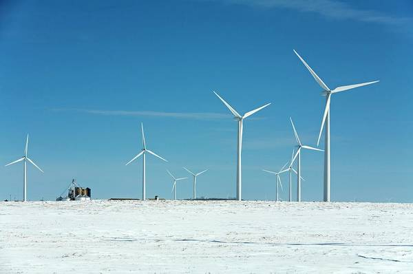 Wind Farm Photograph - Wind Farm by Jim West