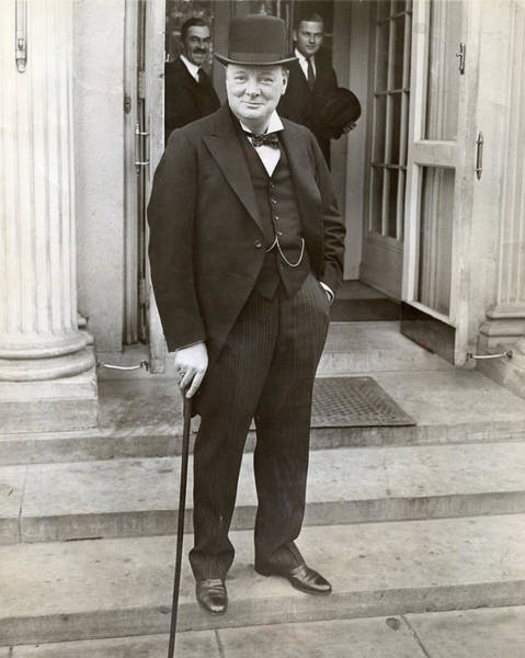 Conservative Wall Art - Photograph - Winston Churchill by Retro Images Archive