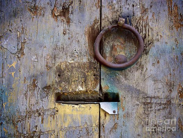 Peeling Paint Wall Art - Photograph - Wooden Door by Bernard Jaubert
