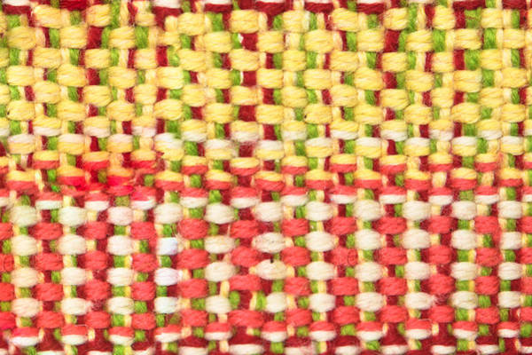Weaving Photograph - Wool Pattern by Tom Gowanlock