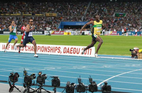 Wall Art - Photograph - World Athletics Championships, Korea by Science Photo Library