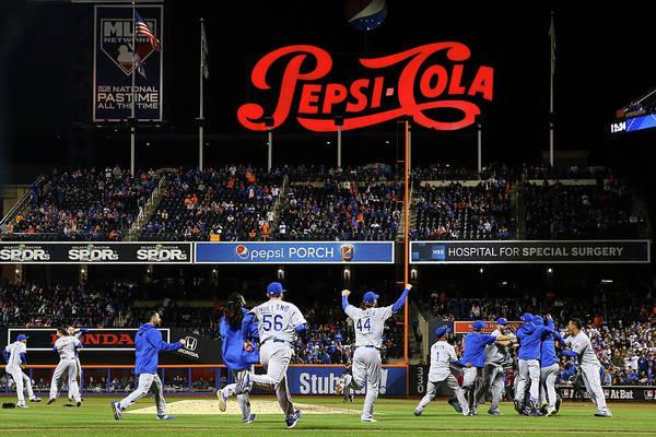 Photograph - World Series - Kansas City Royals V New by Al Bello