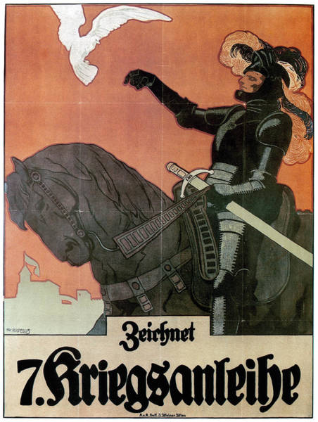 Painting - World War I Poster by Granger