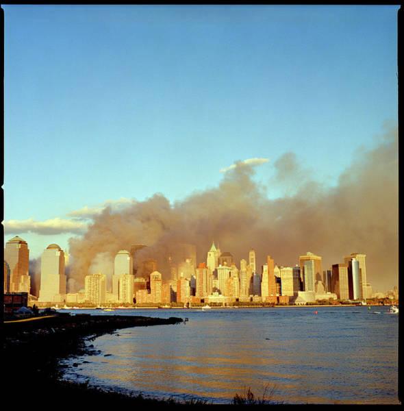 September 11 Attacks Photograph - Wtc Attacks September 11, 2001 by Katja Heinemann