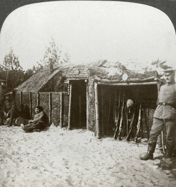 Wall Art - Photograph - Wwi Trenches, C1916 by Granger