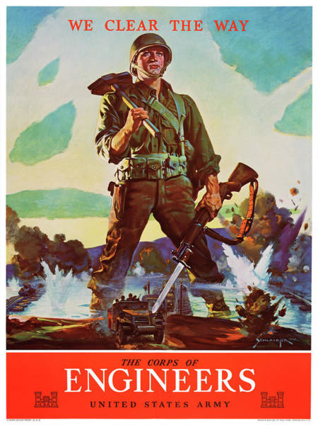 Wall Art - Painting - Wwii Poster, 1942 by Granger