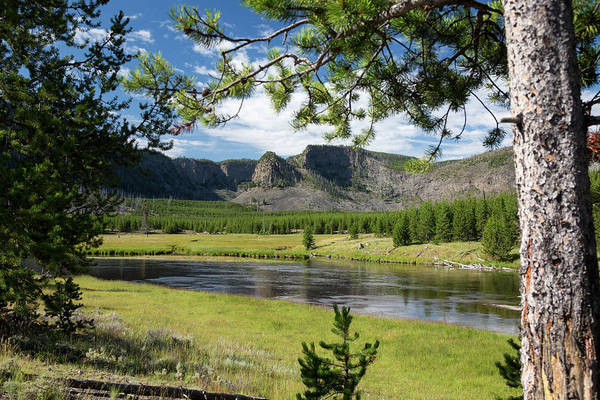 Firehole River Wall Art - Photograph - Yellowstone National Park by Jim West