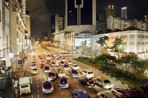 Photograph - Singapore by Songquan Deng