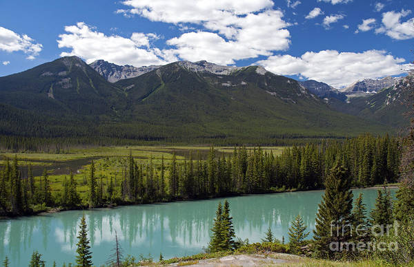 Photograph - 403p Bow River Canada by NightVisions