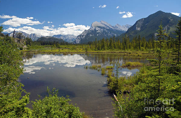 Photograph - 404p Vermilion Lakes Canada by NightVisions