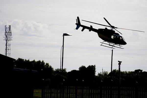 Kimberley Airport Photograph - 407 Silhouette by Paul Job