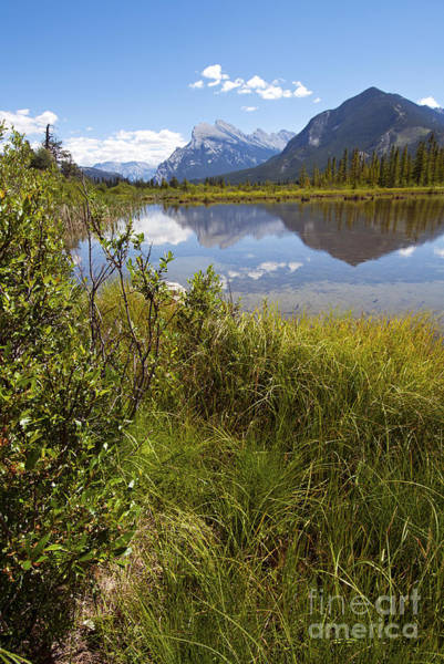 Photograph - 409p Vermilion Lakes Canada by NightVisions