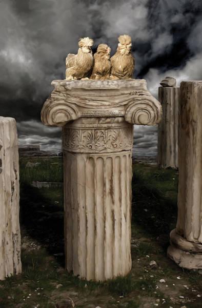 Digital Art - 42. Akropolis Burmahs by Sigrid Van Dort
