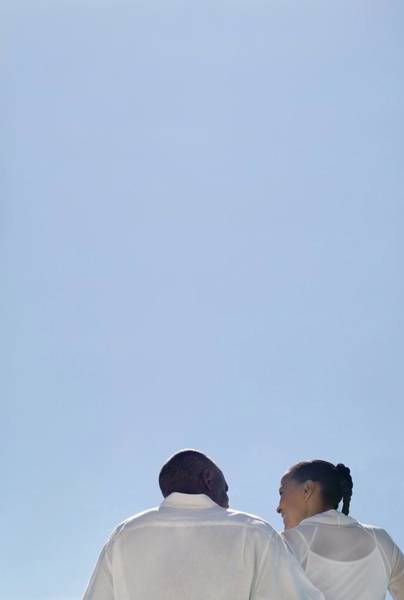 Wall Art - Photograph - Happy Couple by Ian Hooton/science Photo Library