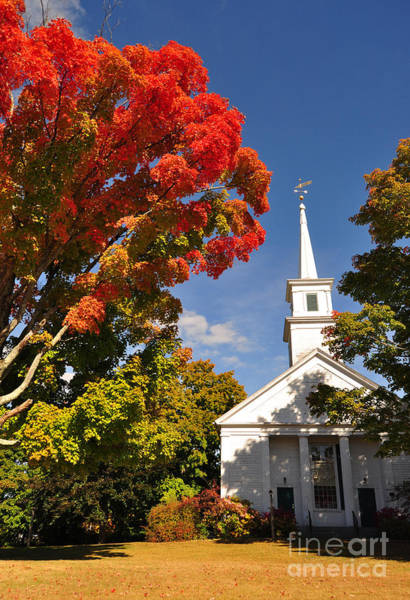 Photograph - Lunenburg, Ma - Fall Foliage by Staci Bigelow